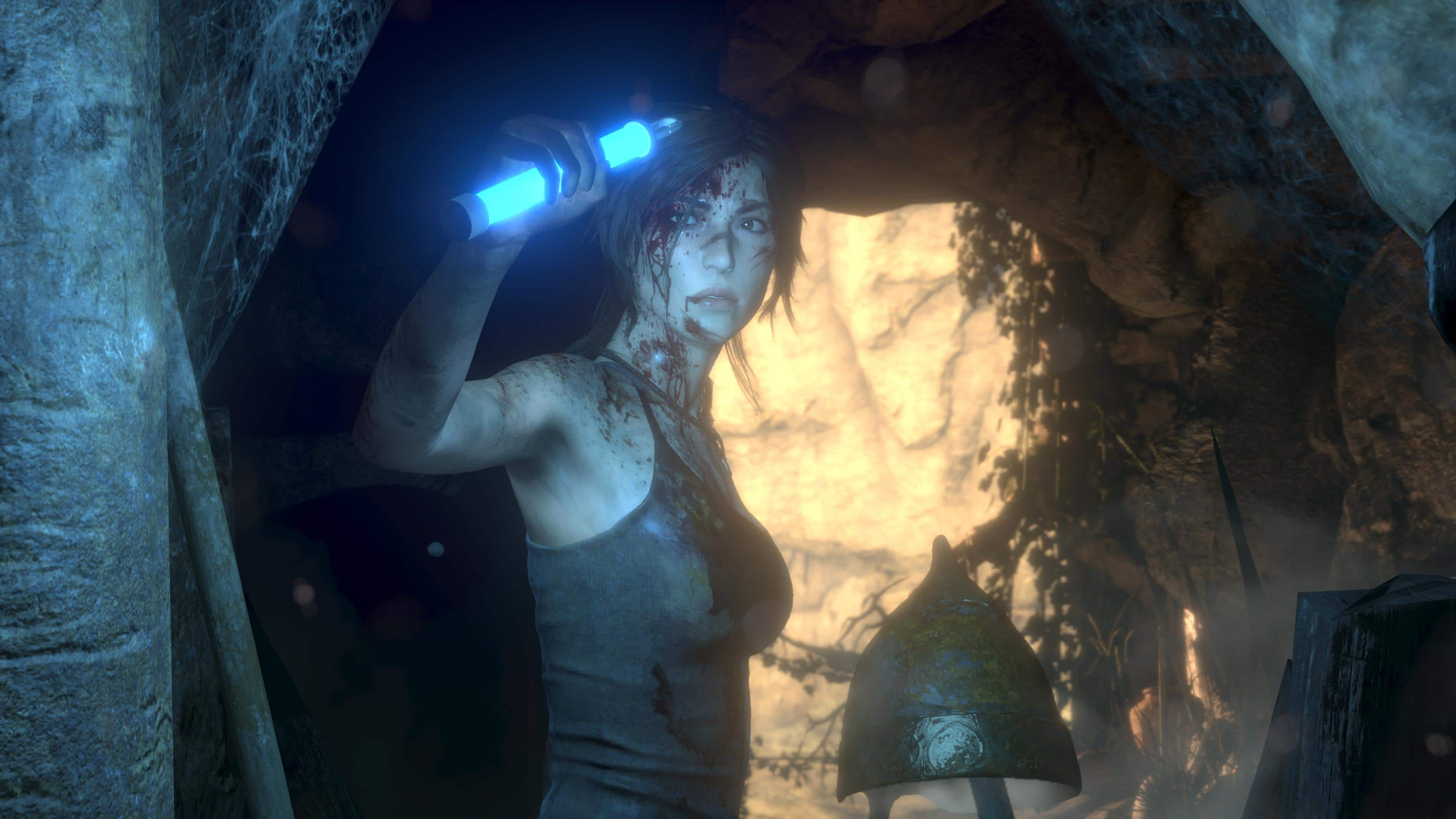Rise of the Tomb Raider 20 Aniversario 4K