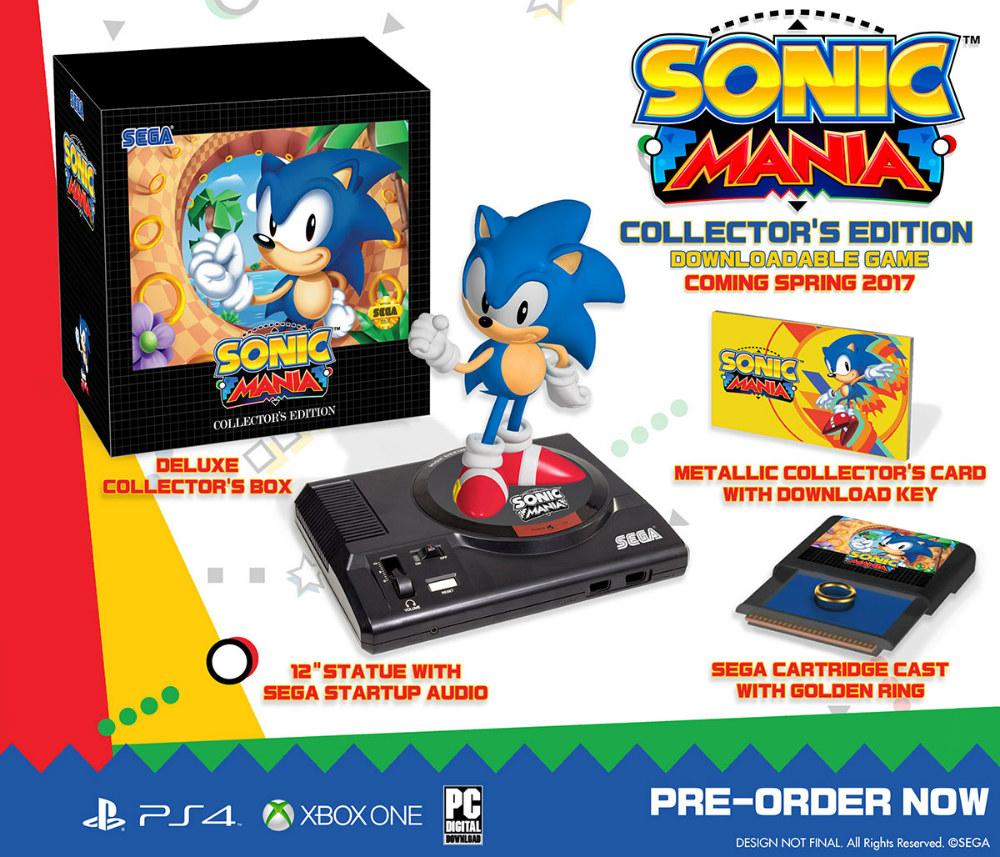 Sonic Mania - Edición Coleccionista