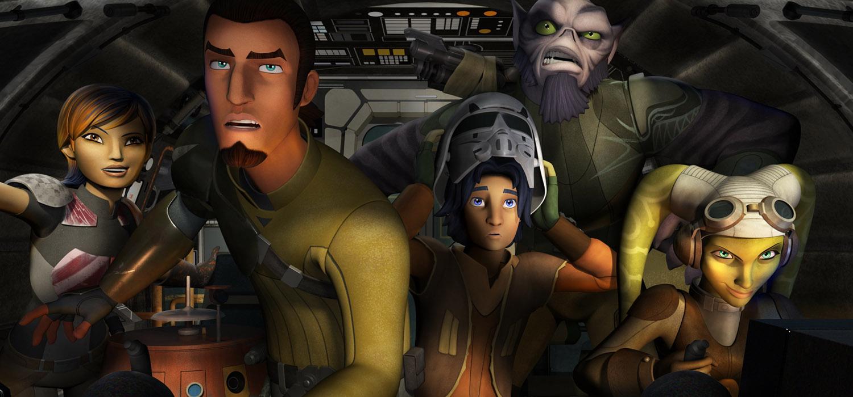 Star Wars Rebels. Kanan y la tripulación del Espíritu