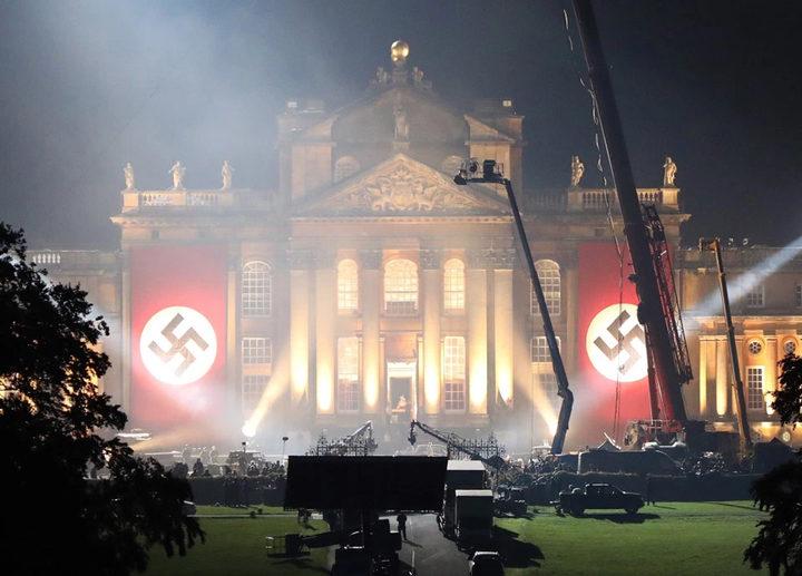 Transformers: The last knight - rodaje y banderas nazi