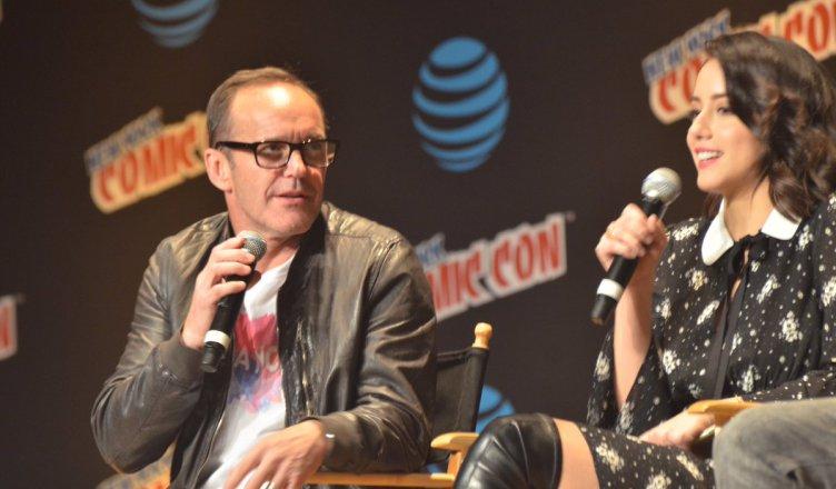 Comic-Con Nueva York, Marvel, Chloe Bennet, Clark Gregg