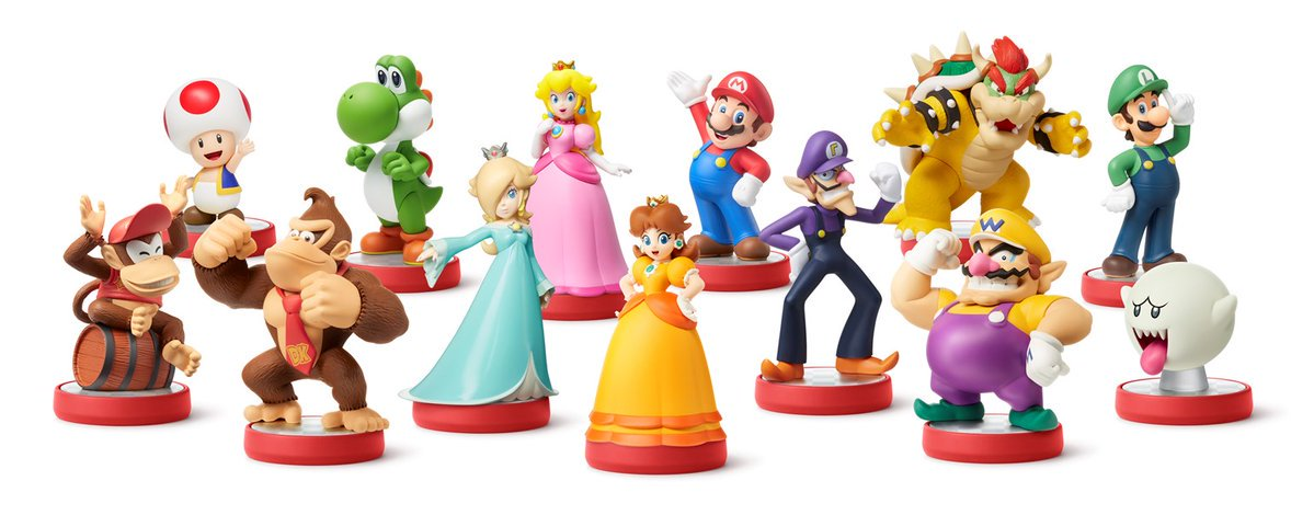 amiibo serie Super Mario Collection