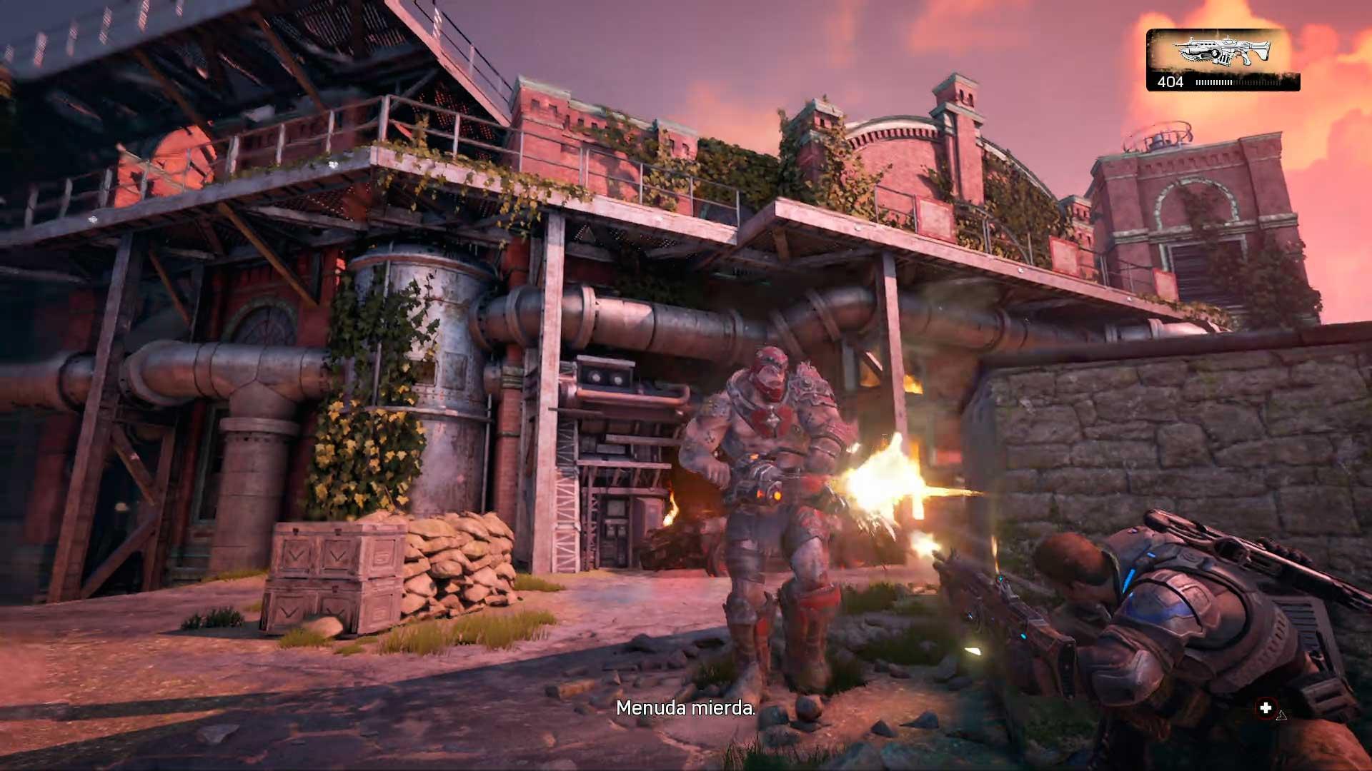 Análisis Gears of War 4 coberturas