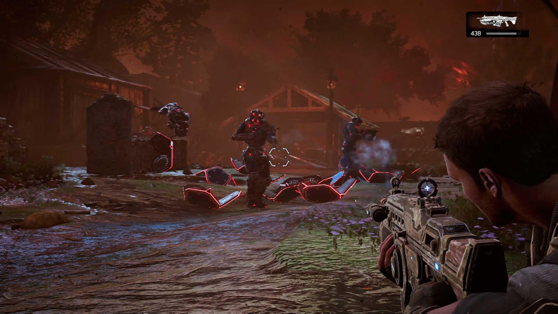 Análisis Gears of War 4 DeeBees