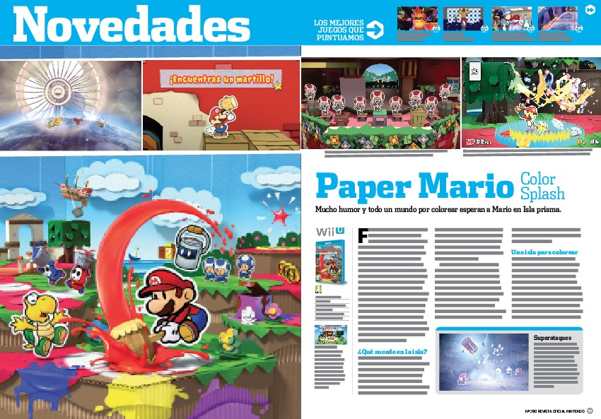Análisis de Paper Mario Color Splash