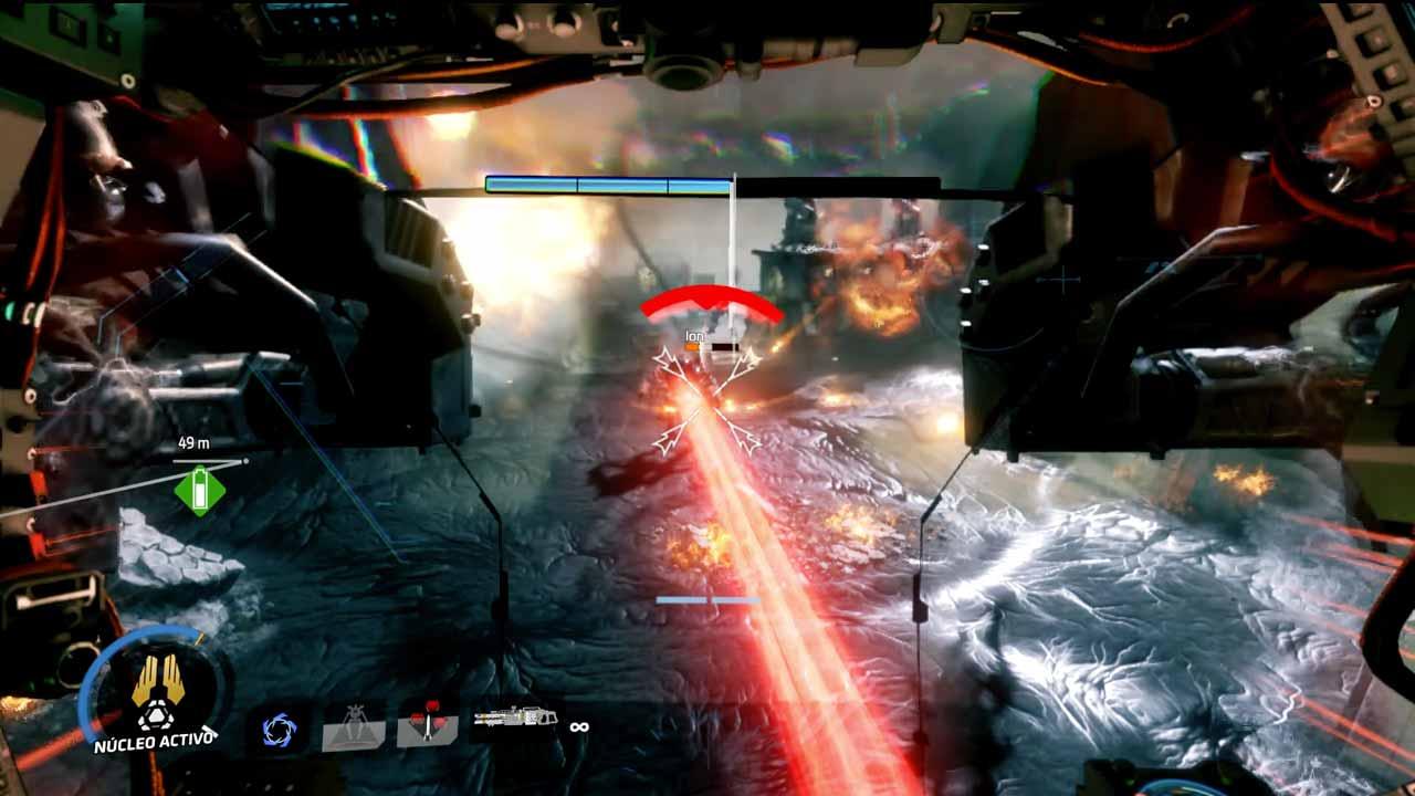 Análisis Titanfall 2 peleas titanes