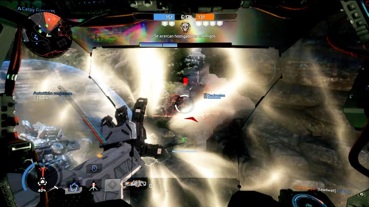 Análisis Titanfall 2 titán defensivo