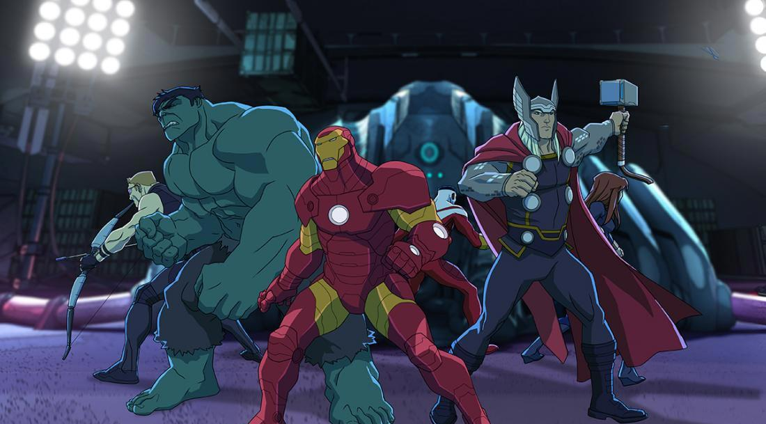 Disney XD, serie animada, Marvel