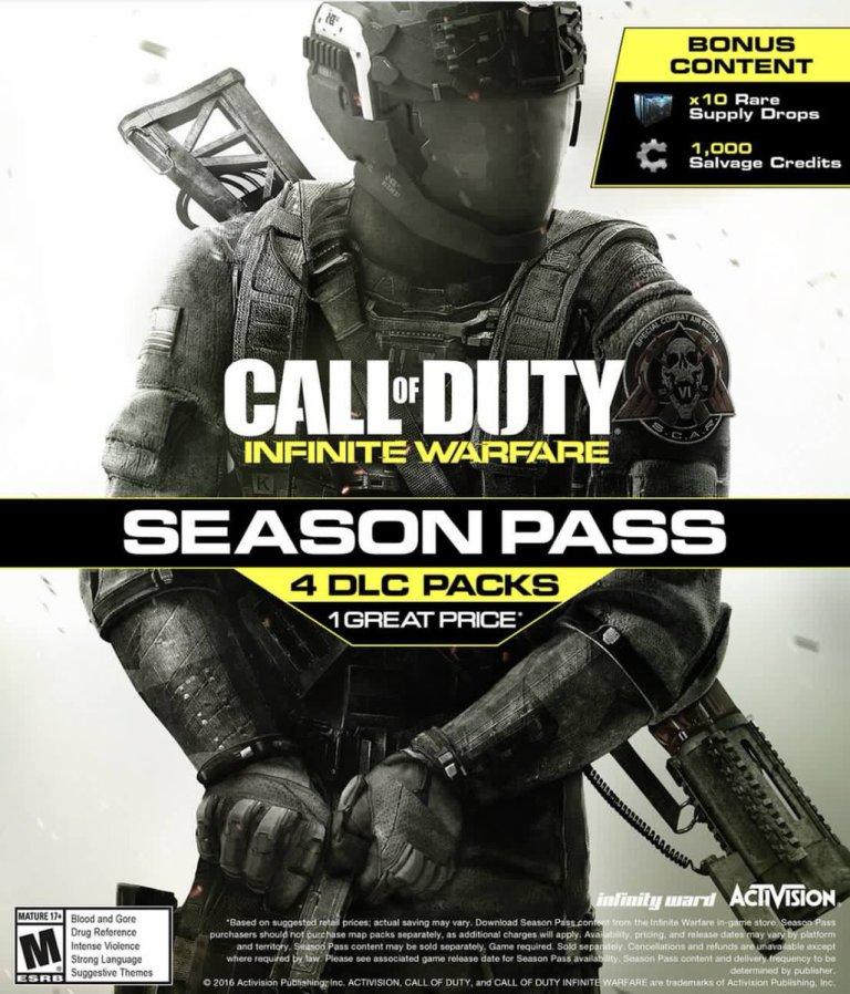 Call of Duty Infinite Warfare pase de temporada