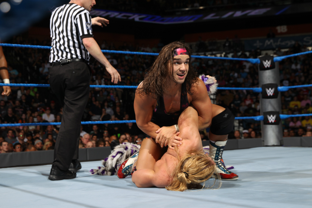 Chad Gable vs Tyler Breeze