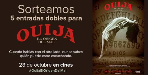 Concurso Ouija el origen del mal