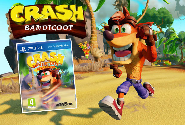 Crash Bandicoot PS4 fake