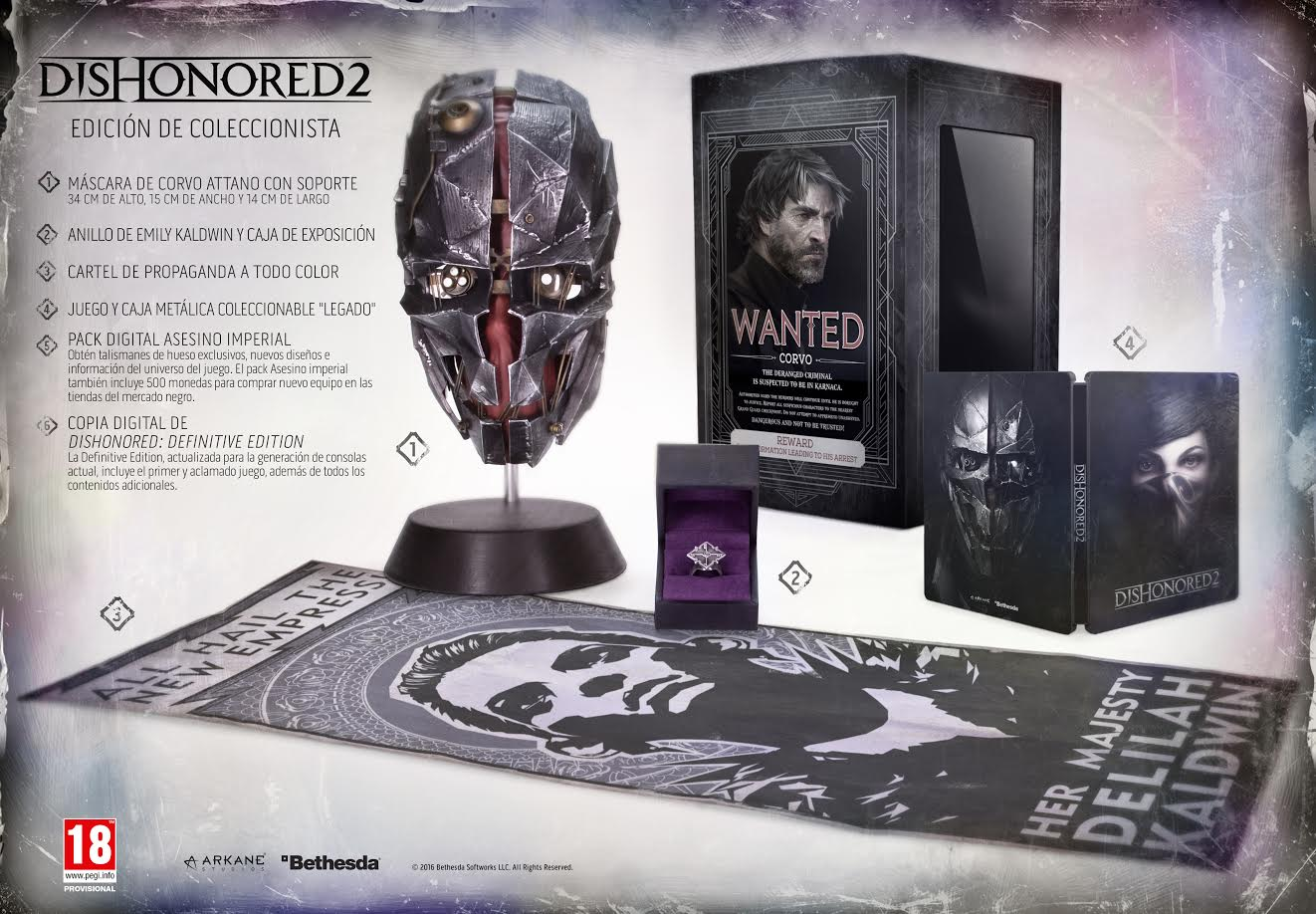 Dishonored 2 Collector´s Edition