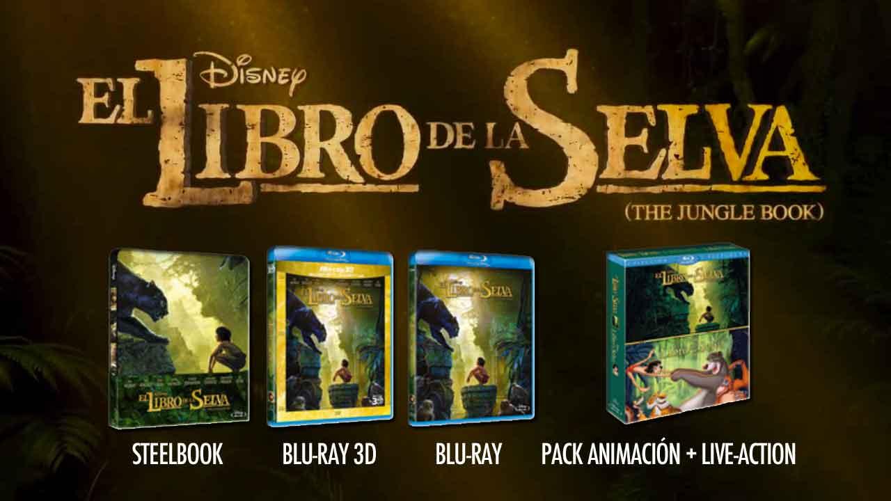 Ediciones caseras de El libro de la selva