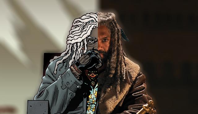 The Walking Dead, El Reino, Cómic