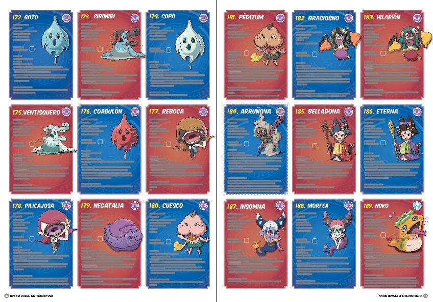 Fichas de Yo-Kai, sexta entrega