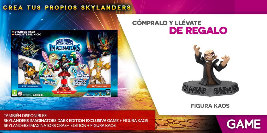 Figura de Kaos de regalo con la reserva de Skylanders Imaginators en GAME