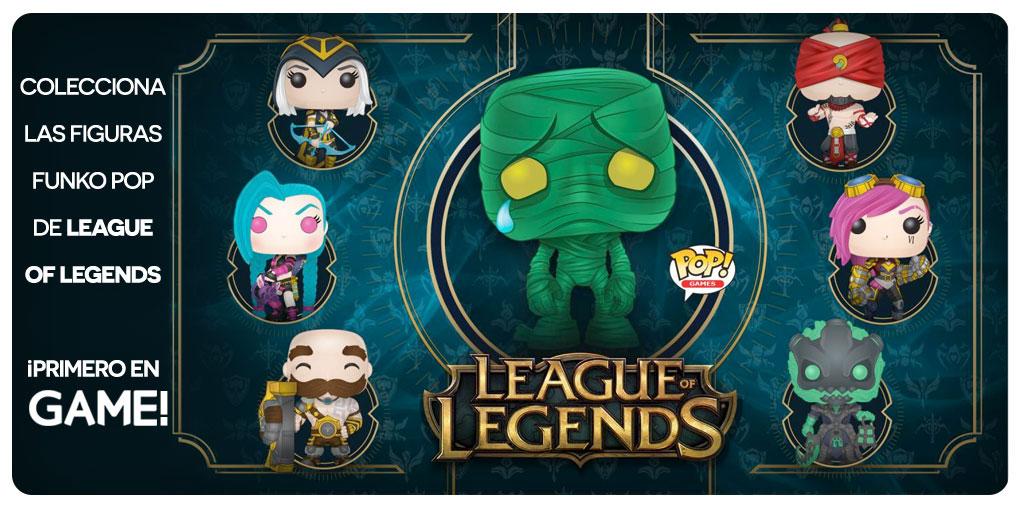 Figuras Funko Pop de League of Legends