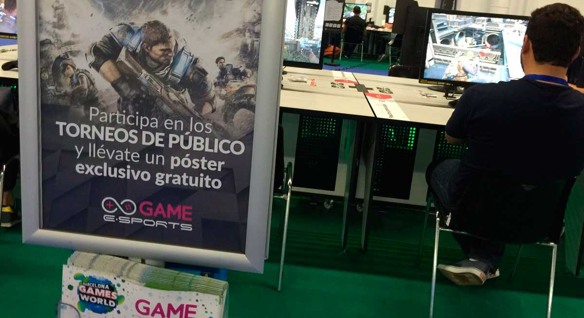 Game eSports Gears of War 4