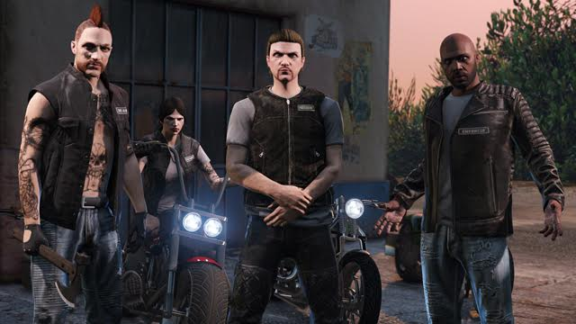 GTA Online Moteros
