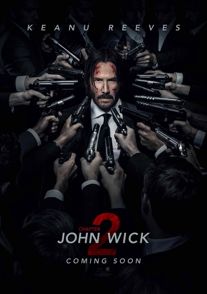 John Wick 2 Poster NYCC