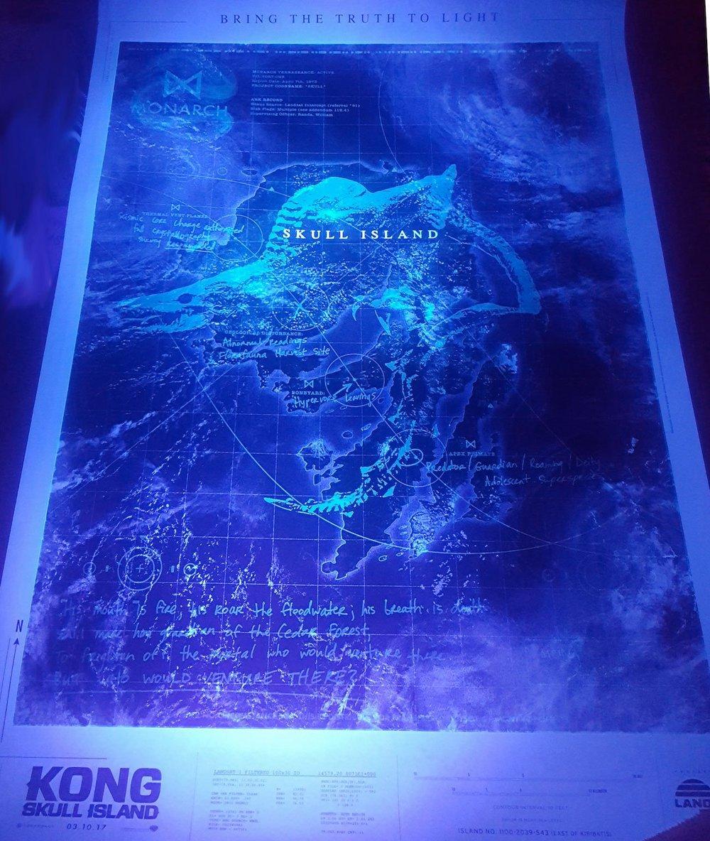 Kong: Skull Island póster