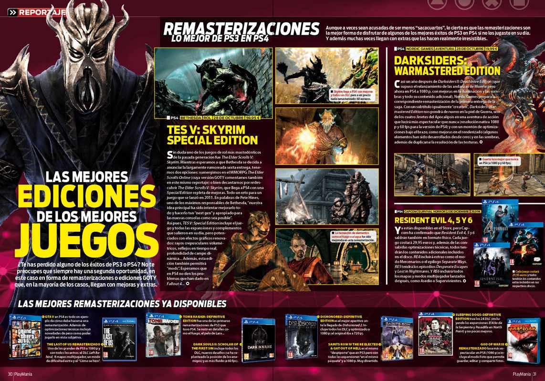 Las mejores ediciones de los mejores juegos en Playmanía 216