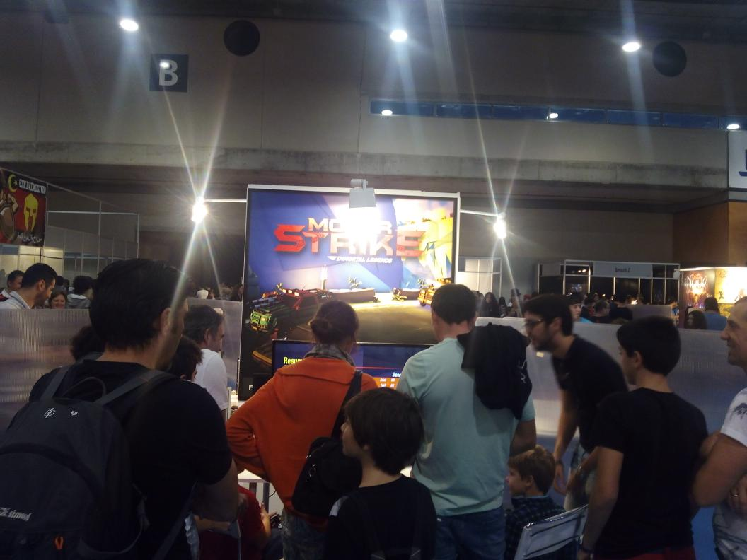 Motor Strike Madrid Gaming Experience