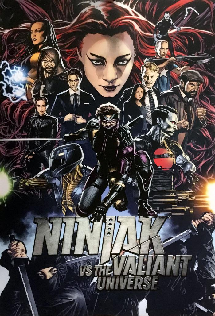 Ninjak vs Valiant Universe