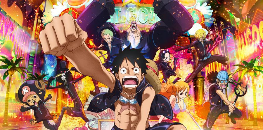 One Piece Film Gold película