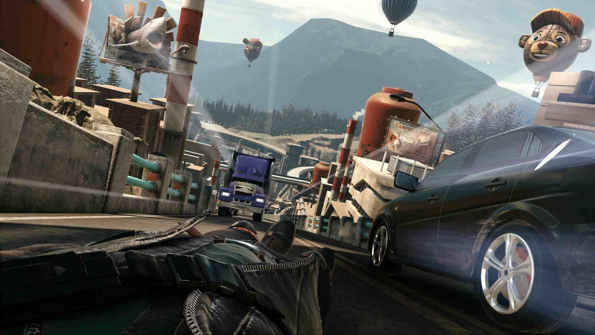 PlayStation VR Worlds VR Luge