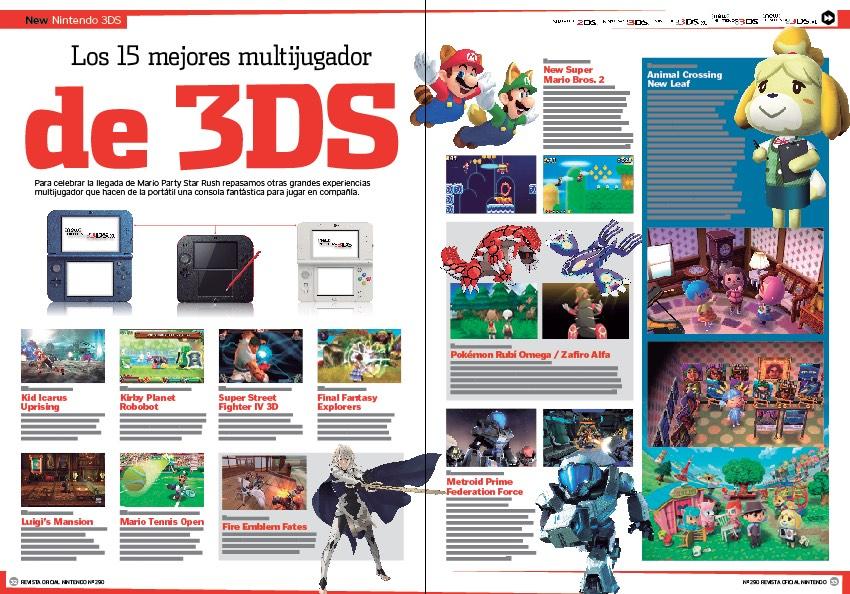 Reportaje los 15 mejores juegos multijugador de 3DS