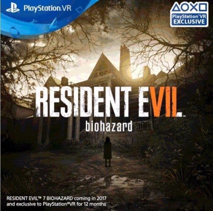Resident Evil 7 Sera Exclusivo De Playstation Vr Durante 12 Meses