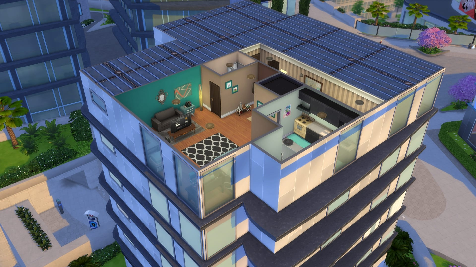 Sims 4 Urbanitas 11