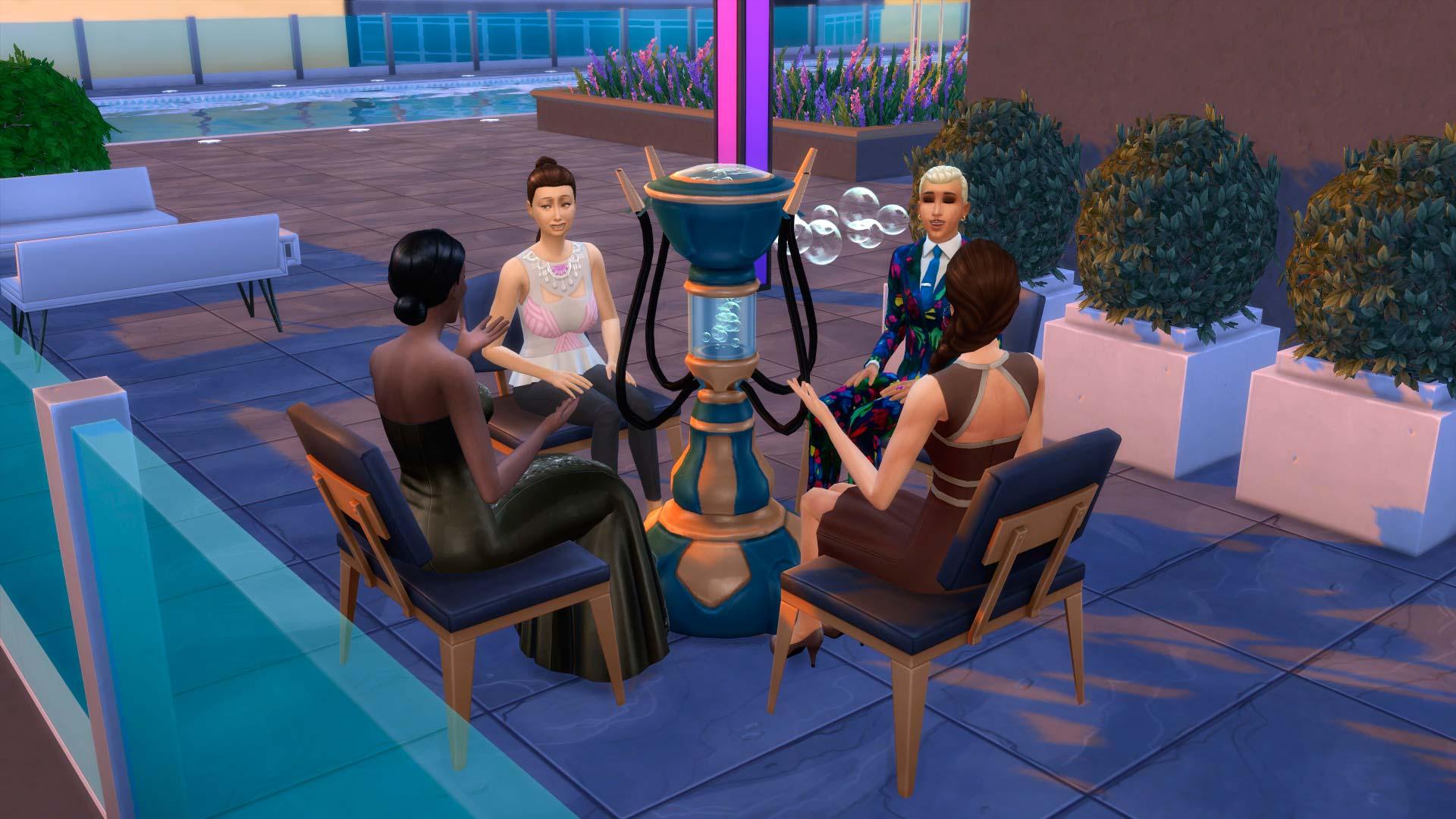 Los Sims 4: Urbanitas 12