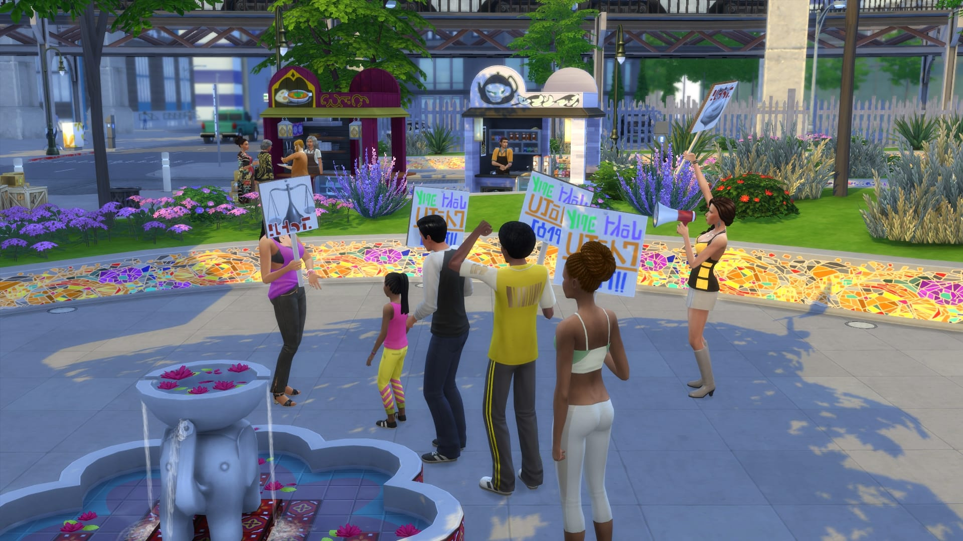 Sims 4 Urbanitas 4