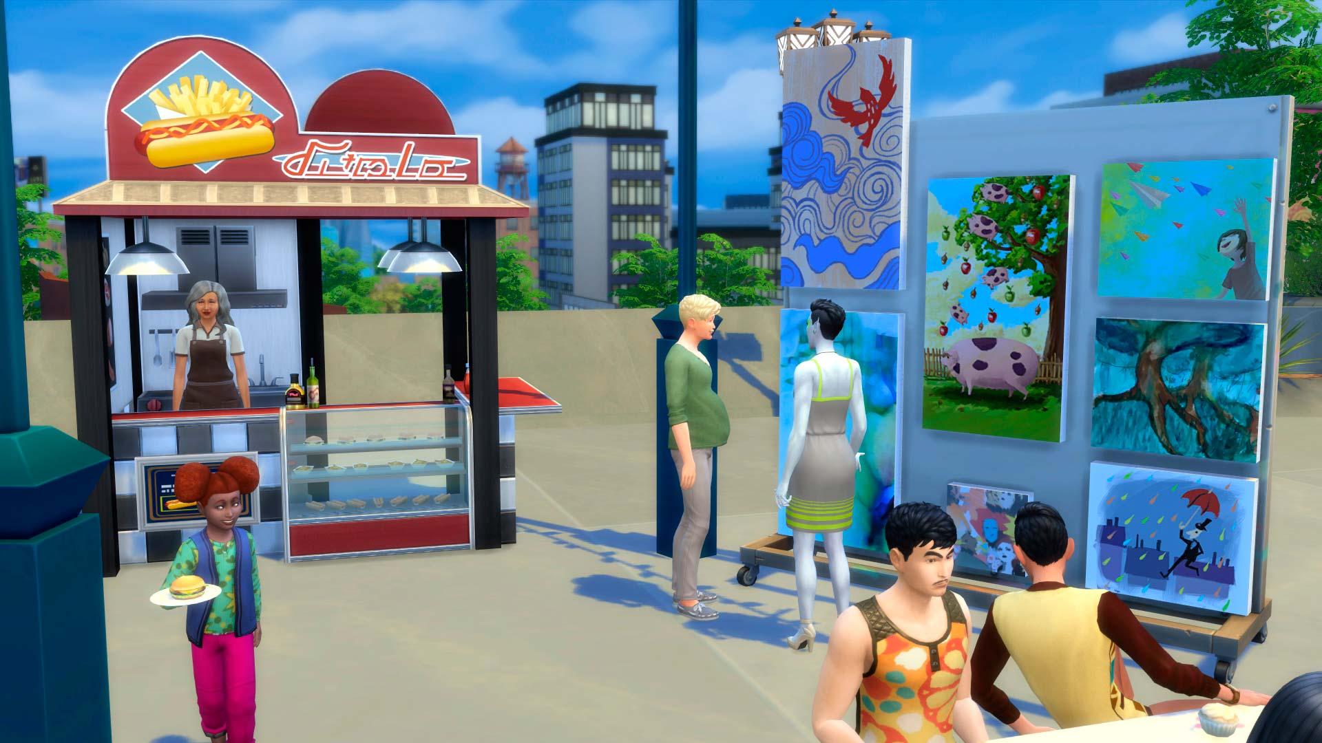 Los Sims 4 Urbanitas 9