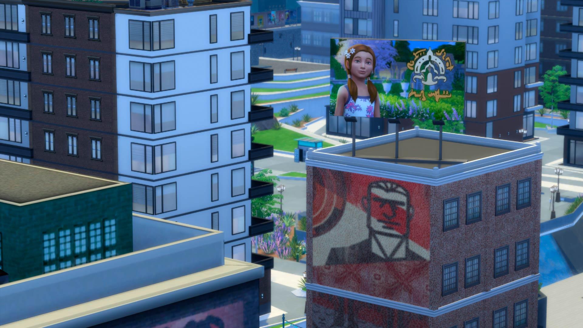 Los sims 4 urbanitas an lisis de la expansi n para pc for Mods sims 4 muebles
