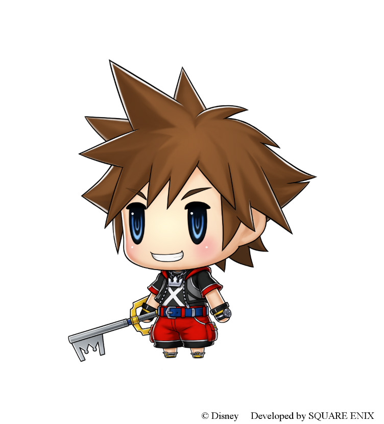 Sora World of Final Fantasy