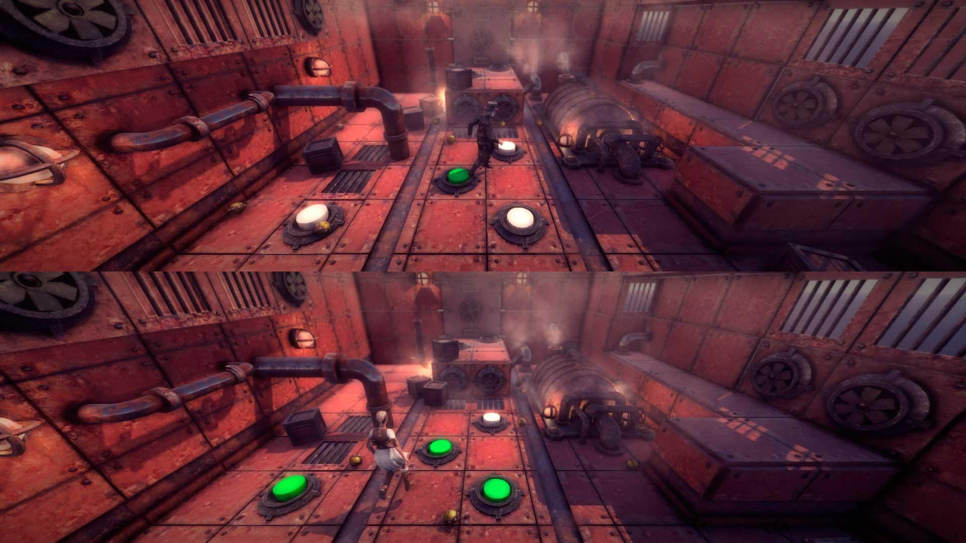 SteamForce, escenarios procedurales