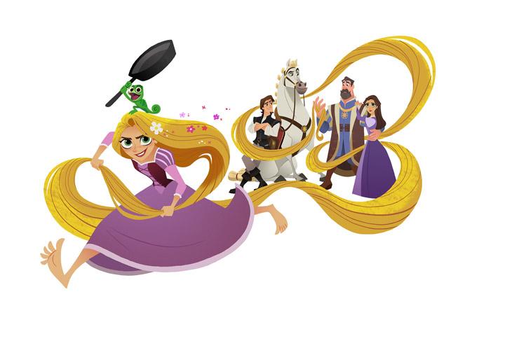 Enredados, Disney, Rapunzel