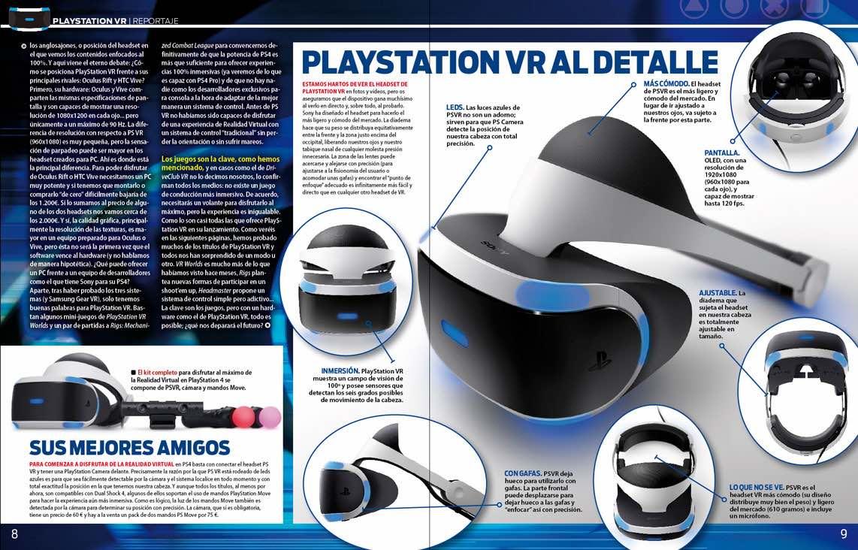 Todo sobre PlayStation VR en Playmanía 216