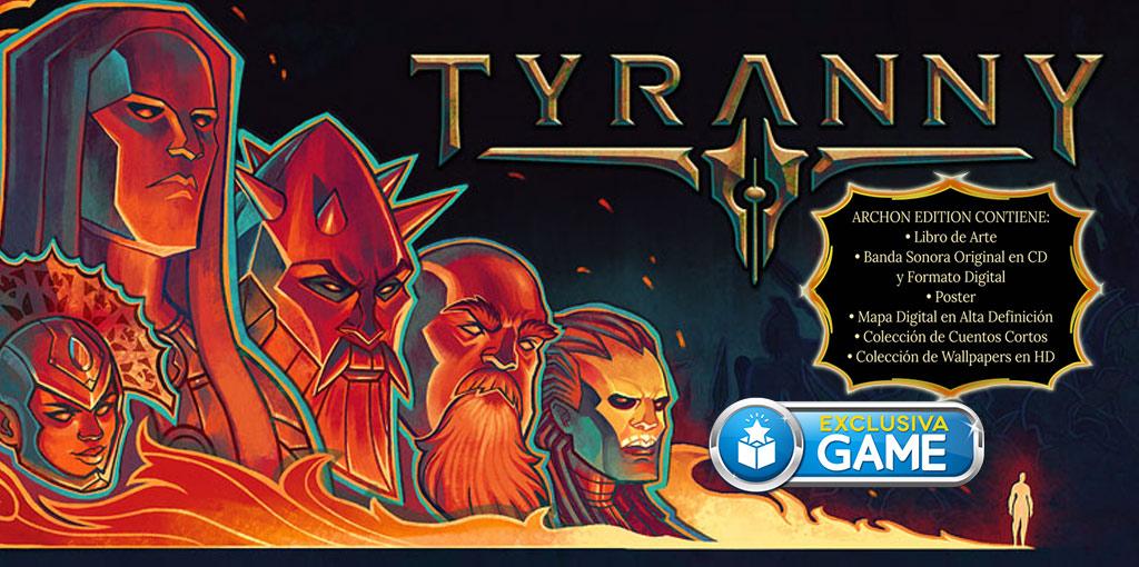 Tyranny GAME