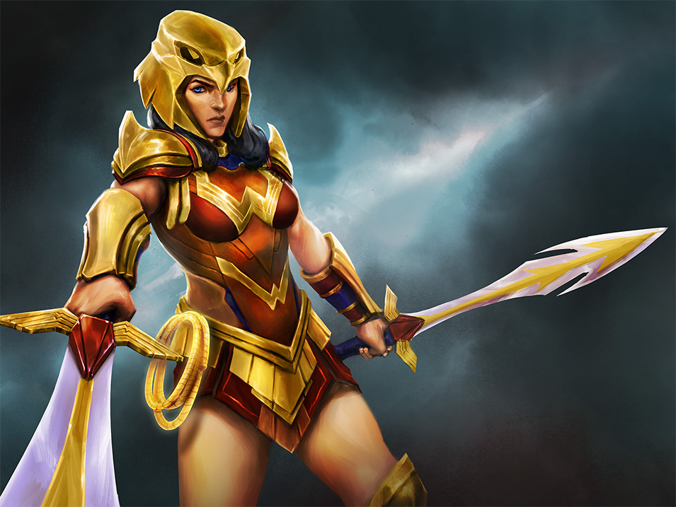 Wonder Woman en DC Legends