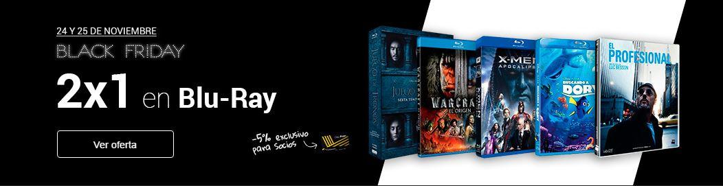 2x1 en Blu-Ray