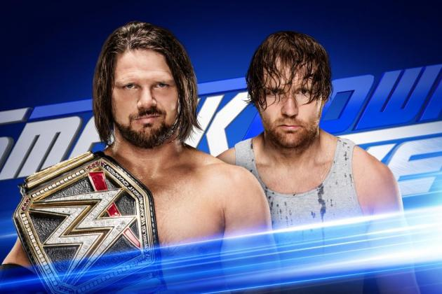 WWE - AJ Styles vs Dean Ambrose