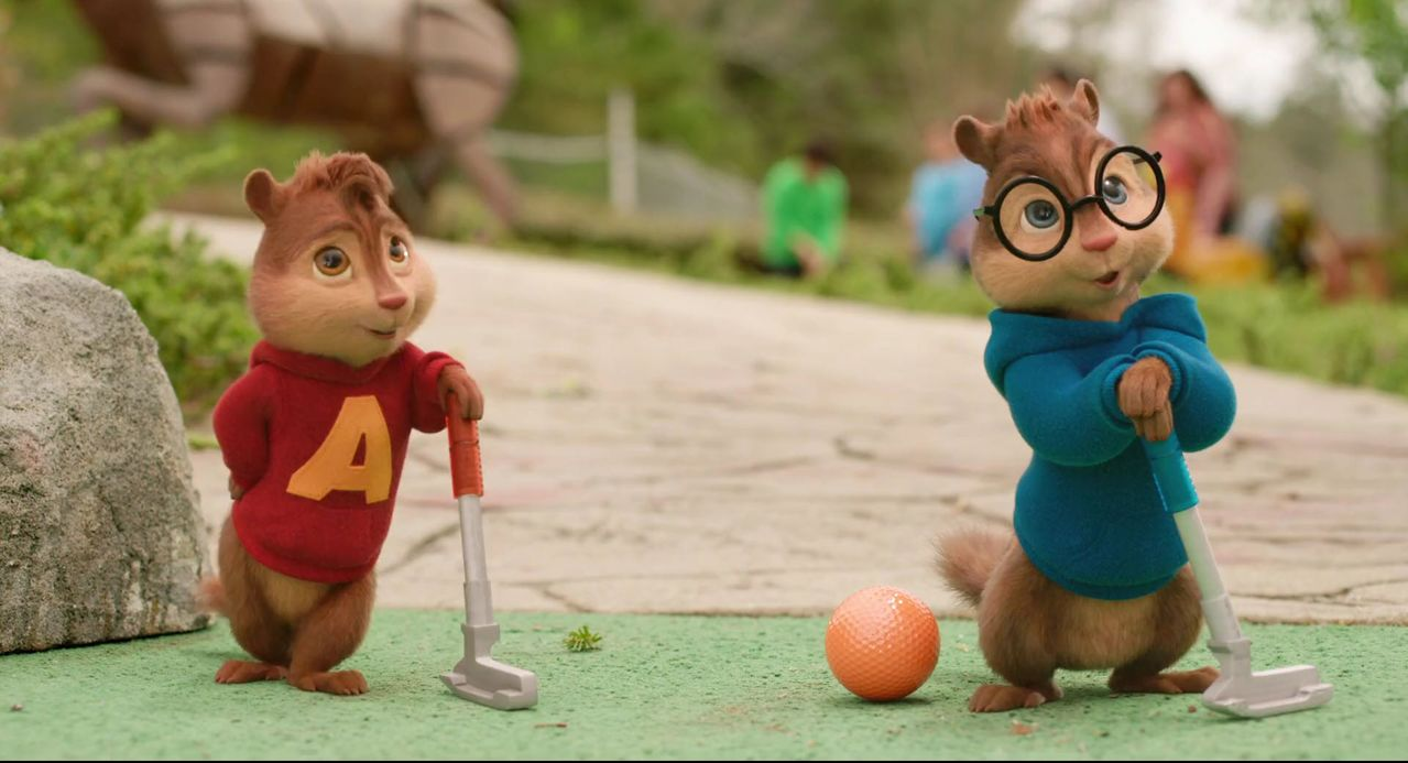 Alvin, Simon y Theodore