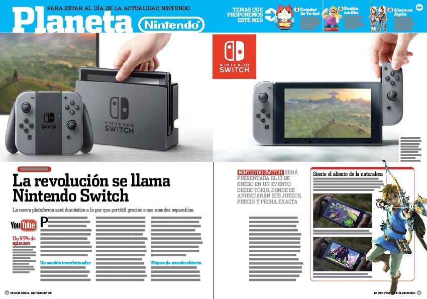 Así es Nintendo Switch