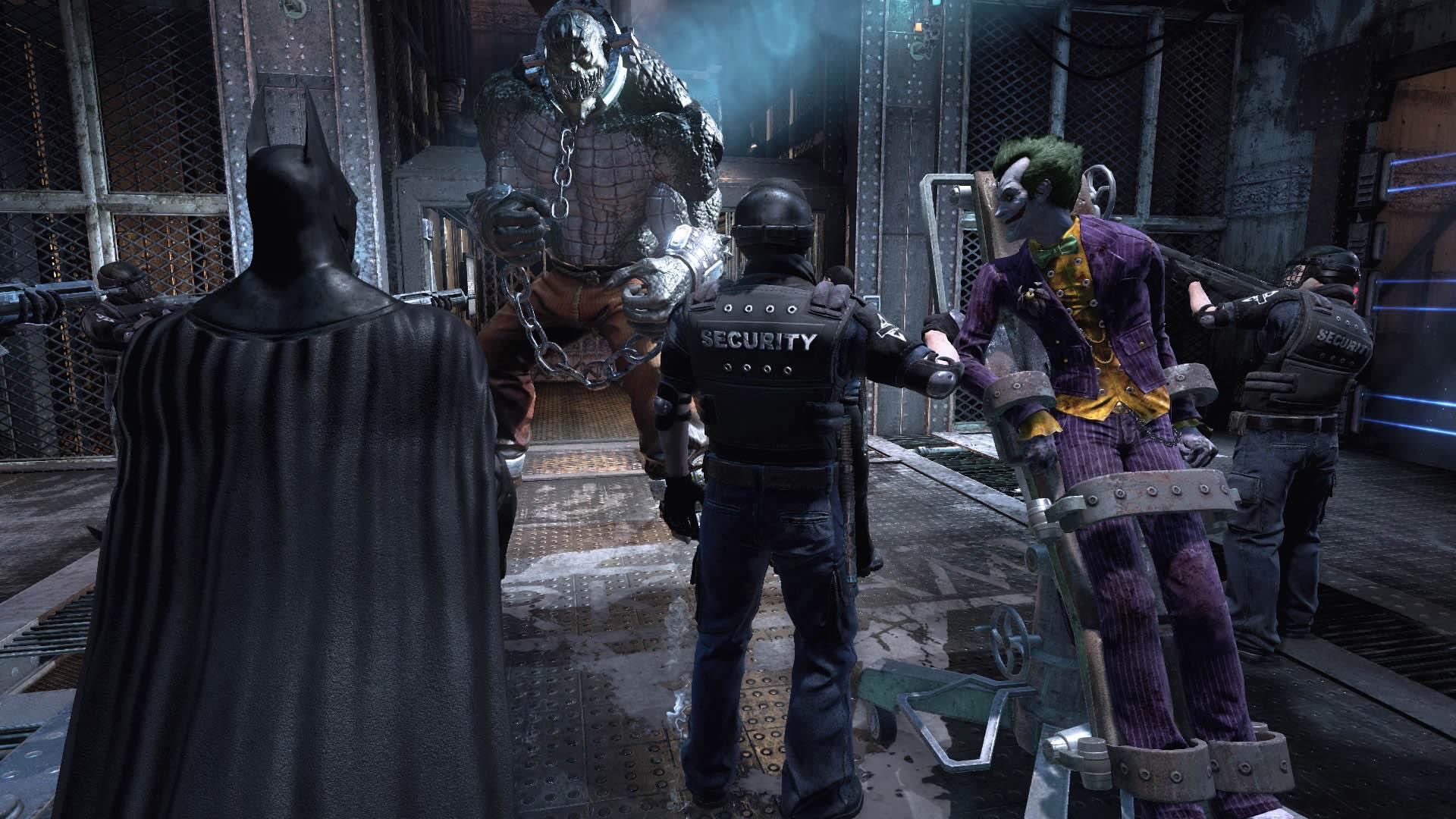 BRTA - Arkham Asylum Jefes