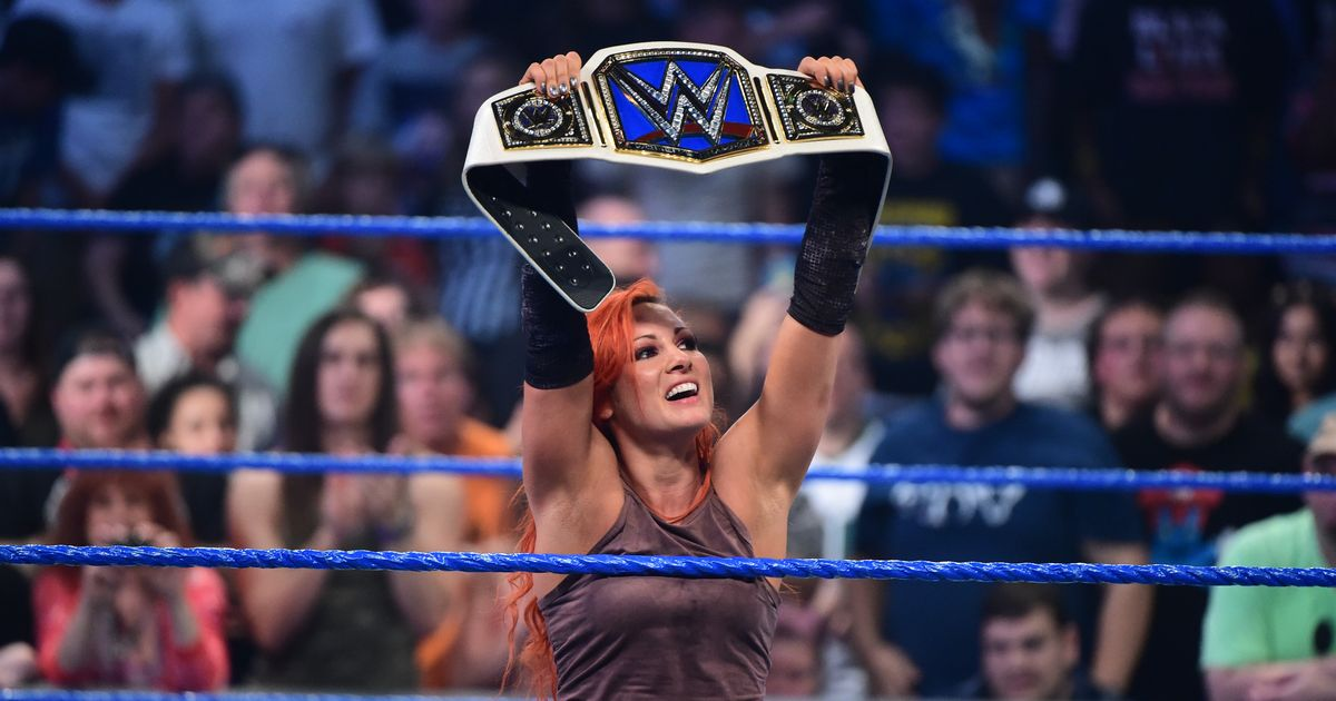 WWE - Becky Lynch, Campeona Femenina de SmackDown